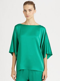 Michael Kors - Satin Bateau Top