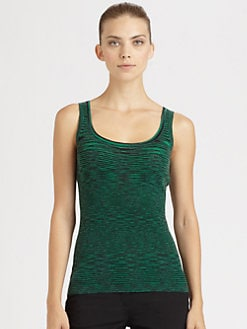 Michael Kors - Space-Dyed Cashmere Tank