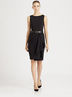 Michael Kors - Belted Drape Dress