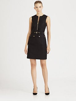 Michael Kors - Broadcloth Cargo Dress