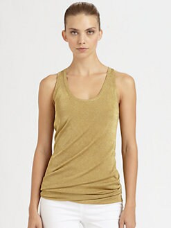 Michael Kors - Metallic Tank