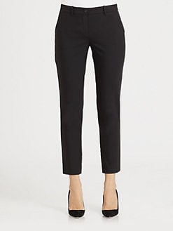 Michael Kors - Cropped Wool Samantha Pants