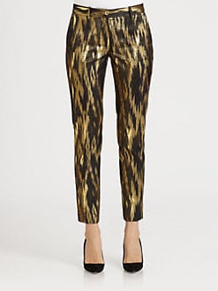 Michael Kors - Ikat Jacquard Pants