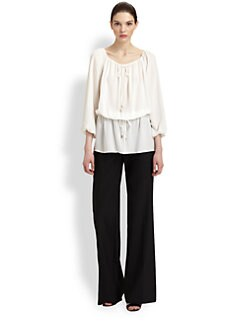 Michael Kors - Silk Georgette Blouse