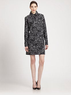 Michael Kors - Ikat Poplin Tunic Dress