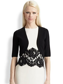 Michael Kors - Featherweight Merino Wool Shrug