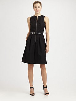 Michael Kors - Harness Belt Bell Dress