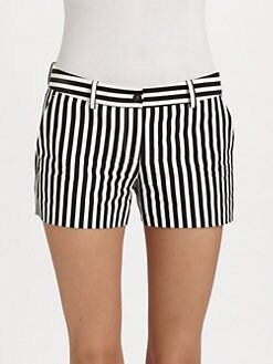 Michael Kors - Deck Stripe Mini Shorts