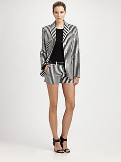 Michael Kors - Deck Stripe Three-Button Jacket