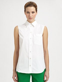 Michael Kors - Button-Front Top