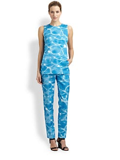 Michael Kors - Digital Pool Print Shell