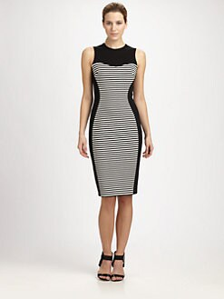 Michael Kors - Striped Illusion Dress