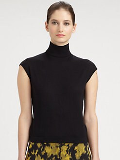 Michael Kors - Cashmere & Silk Turtleneck Top