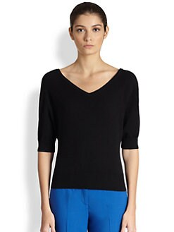 Michael Kors - Cashmere V-Neck Sweater