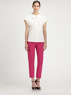 Michael Kors - Structured-Collar Poplin Shirt