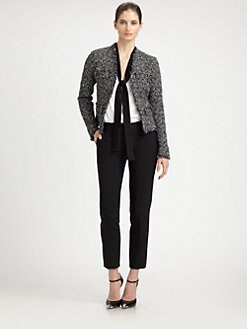 Michael Kors - Frayed Tweed Jacket