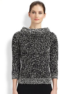 Michael Kors - Bouclé Boatneck Sweater