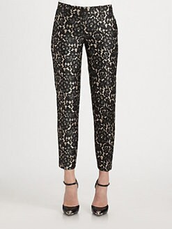 Michael Kors - Samantha Lace-Print Pants