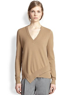 Michael Kors - Cashmere Asymmetrical-Hem Sweater