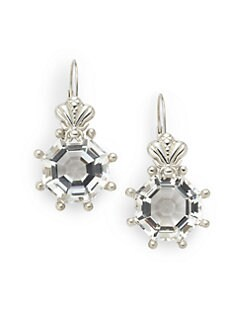 Slane - Bee Prong Earrings/Silver