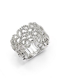 KC Designs - Diamond Swirl Ring
