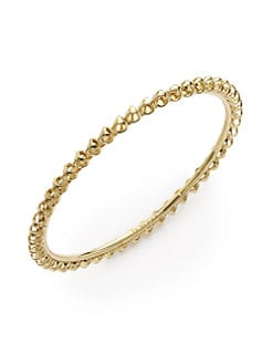 Di Modolo - Triadra Eternity Bangle/Yellow Gold
