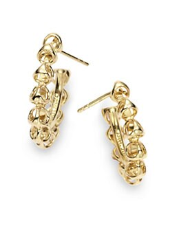 Di Modolo - Triadra Small Hoop Earrings/Yellow Gold