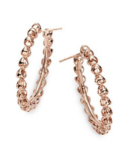 Di Modolo - Triadra Medium Hoop Earrings/Rose Gold