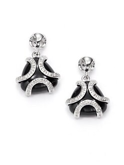Di Modolo - Spirit Onyx & Diamond Earrings