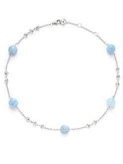 Di Modolo - Lolita Aquamarine Short Necklace