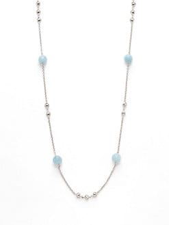 Di Modolo - Lolita Aquamarine Long Necklace