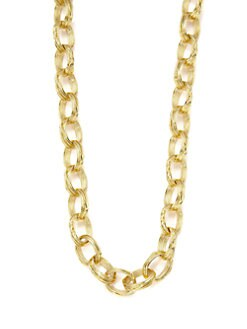 Slane - Aura Basketweave Link Necklace