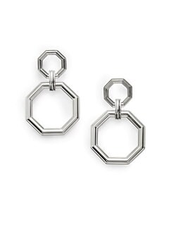Slane - Octagon Double Drop Earrings
