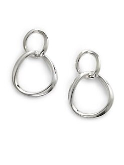 Slane - Double Drop Hoop Earrings