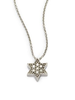 Sydney Evan - Diamond Star of David Necklace