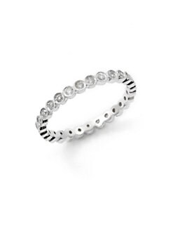 Sydney Evan - Diamond Eternity Ring/Silver