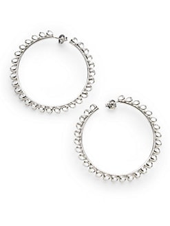 Di Modolo - Large Textured Hoop Earrings