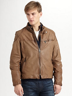 Andrew Marc - Pull Up Biker Jacket