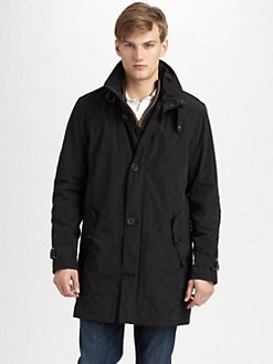 Andrew Marc - Breathable Rain Jacket