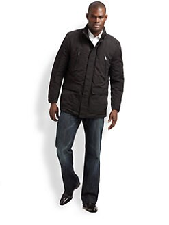 Andrew Marc - Nylon Mid-Length Jacket