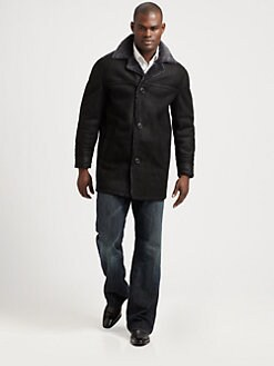 Andrew Marc - Shearling Walking Coat