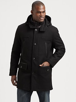 Andrew Marc - Wool-Blend Parka