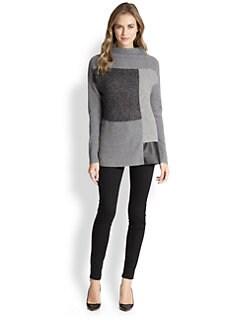 Lafayette 148 New York - Colorblock Intarsia Sweater