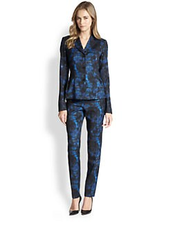 Lafayette 148 New York - Polly Lily Print Jacket