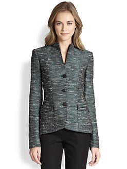 Lafayette 148 New York - Jacquard Structured Jacket