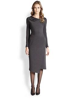 Lafayette 148 New York - Wool Asymmetrical Dress