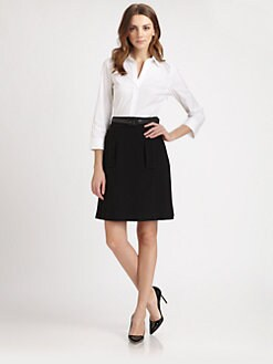 Lafayette 148 New York - Thalia Combo Dress