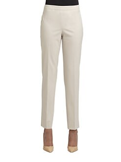 Lafayette 148 New York - Stretch-Wool Bleeker Pants