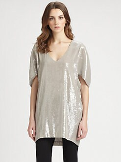 Lafayette 148 New York - Sequin Shanaya Tunic Top