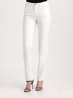 Lafayette 148 New York - Curvy Slim-Leg Jeans
